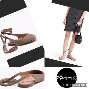 🌟MADWELL 8.5 APRIL ANKLE WRAP FLATS🌟